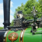 Victoria the steam traction engine