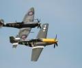 Battle of Britian Flight at Goodwood