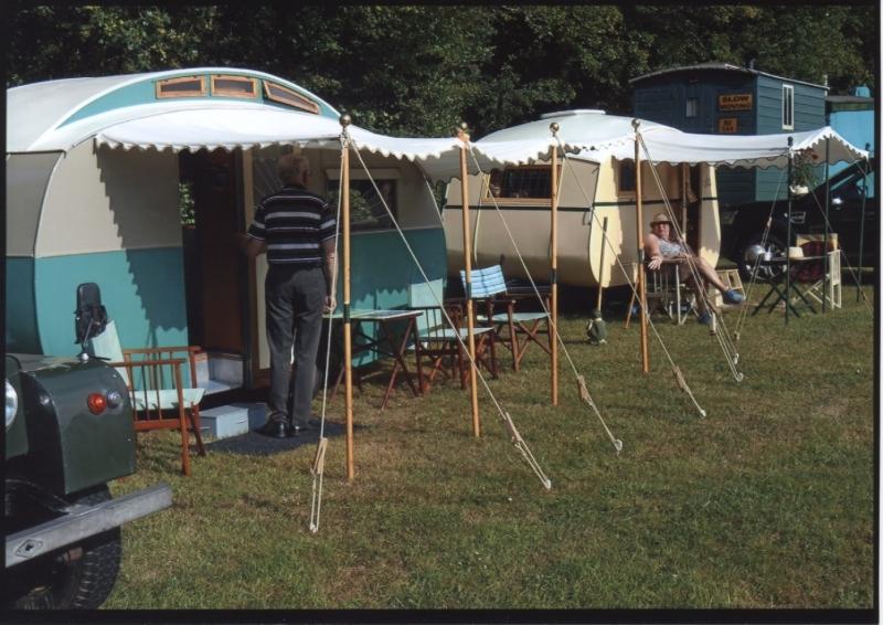 Colin and Jennifer Mansfield caravan