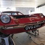 S2 Lotus Europa under restoration