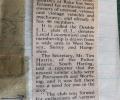 Newspaper cutting from Jan 1974 'CAR CLUB FORMED AT RAKE'