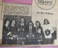 Newspaper cutting from 1975 - CUP WINNERS