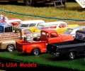 Display of model vehicles