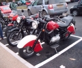 In the car park at the auto jumble