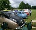 Cars on display