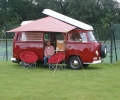VW Camper on display