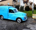 Morris minor Van at Sidlesham March-2012
